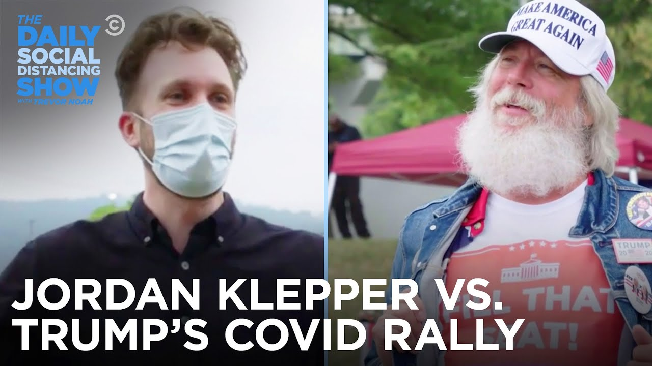 Trump's COVID Rally – Jordan Klepper Fingers The Pulse | The Daily Social Distancing Show