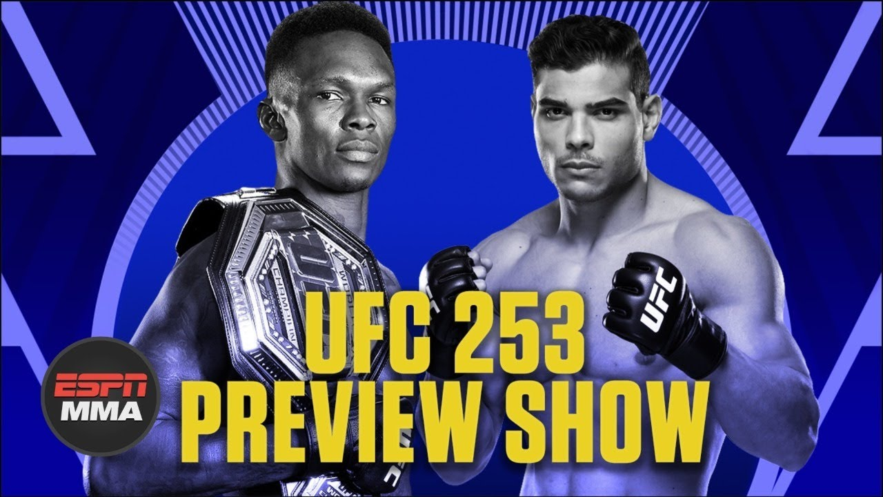 UFC 253 Preview Show   Ariel & The Bad Guy Live   ESPN MMA