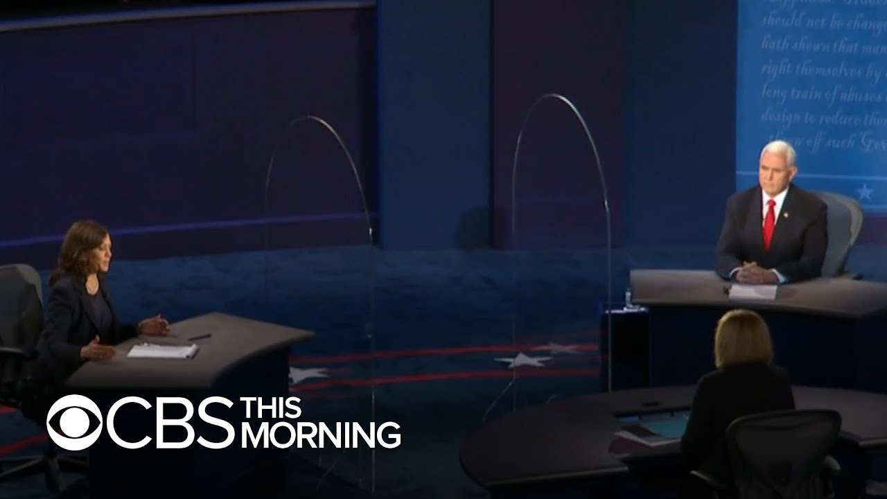Vice President Pence, Senator Kamala Harris go head-to-head in vice presidential debate