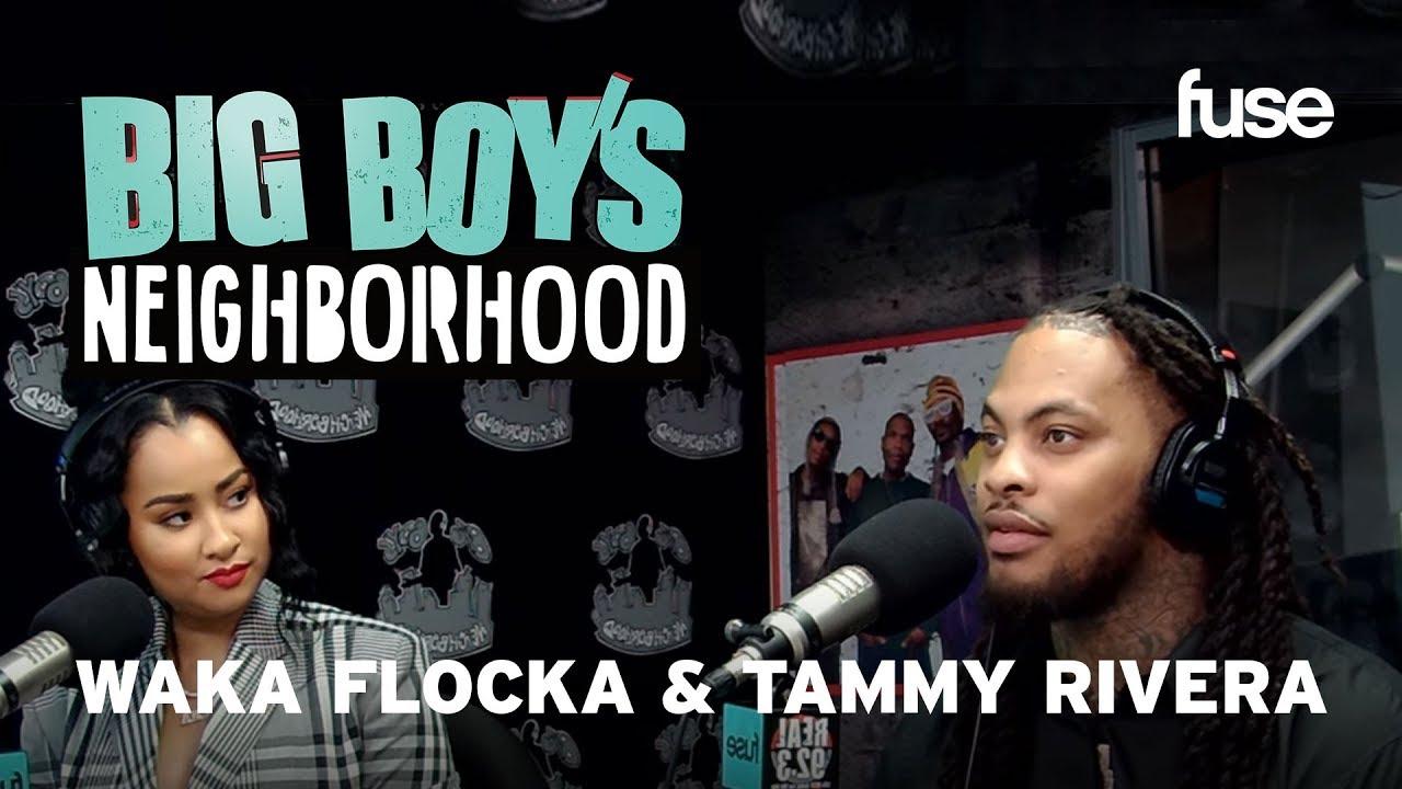 Waka Flocka & Tammy Rivera Showcase Their Love for Each-other | Big Boy x Fuse