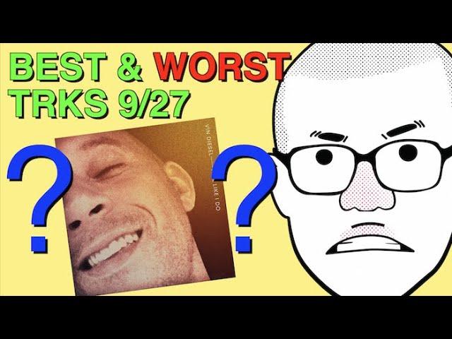 Weekly Track Roundup: 9/27 (VIN DIESEL??)