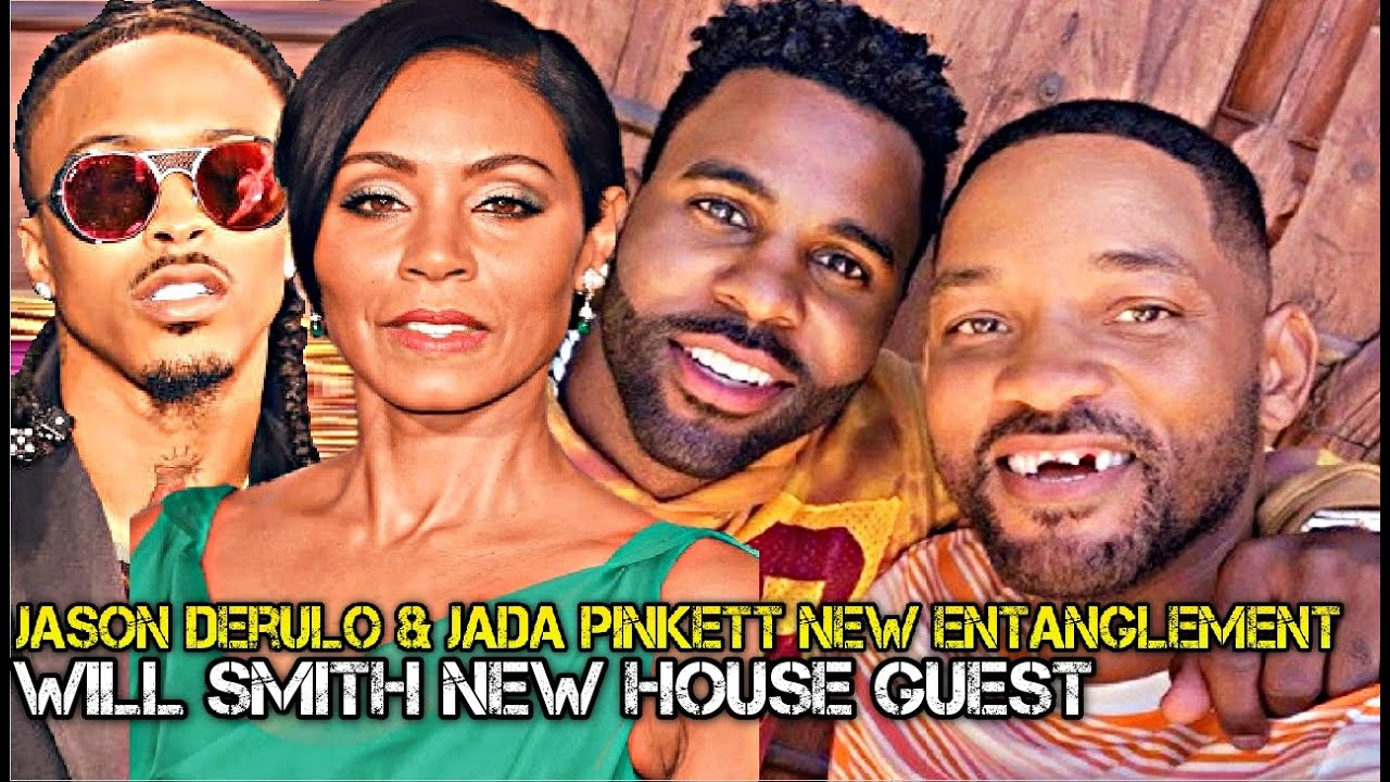 Will Smith Invites Jason Derulo For NEW! Entanglement w/ Jada Pinkett Smith…No More August Alsina