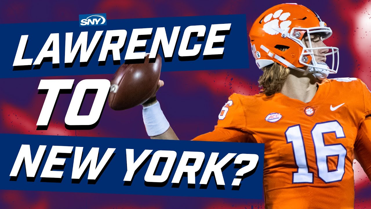 Will the Giants or Jets take Trevor Lawrence No. 1 in the 2021 NFL Draft? | What Are The Odds? | SNY