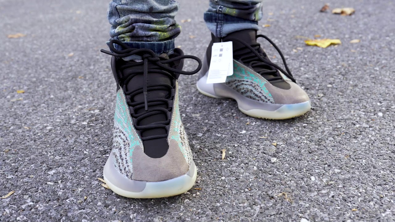 "Yeezy Quantum ""Teal Blue"" (Dope or Nope) + On Foot !"