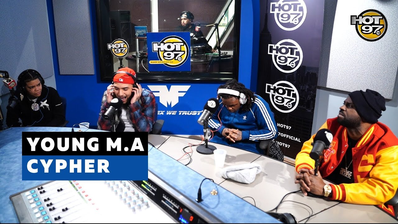 YOUNG M.A CYPHER | FUNK FLEX | #Freestyle138