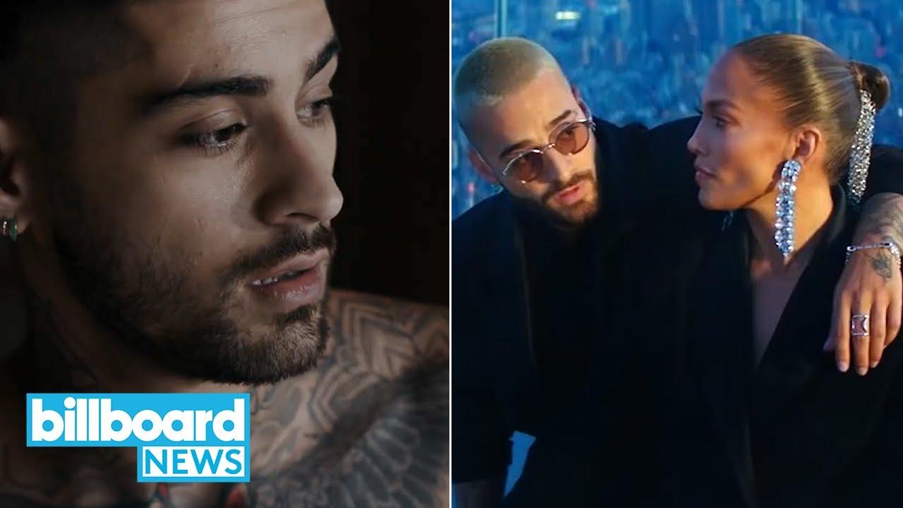 Zayn Malik is Back, J Lo and Maluma Drop Music Video, and More | Billboard First Stream New Music