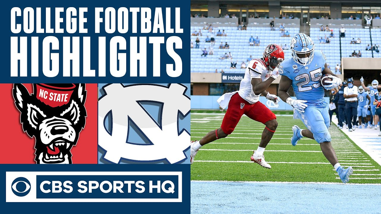 #23 NC State vs #14 North Carolina Highlights: Wolfpack suffers painful loss | CBS Sports HQ