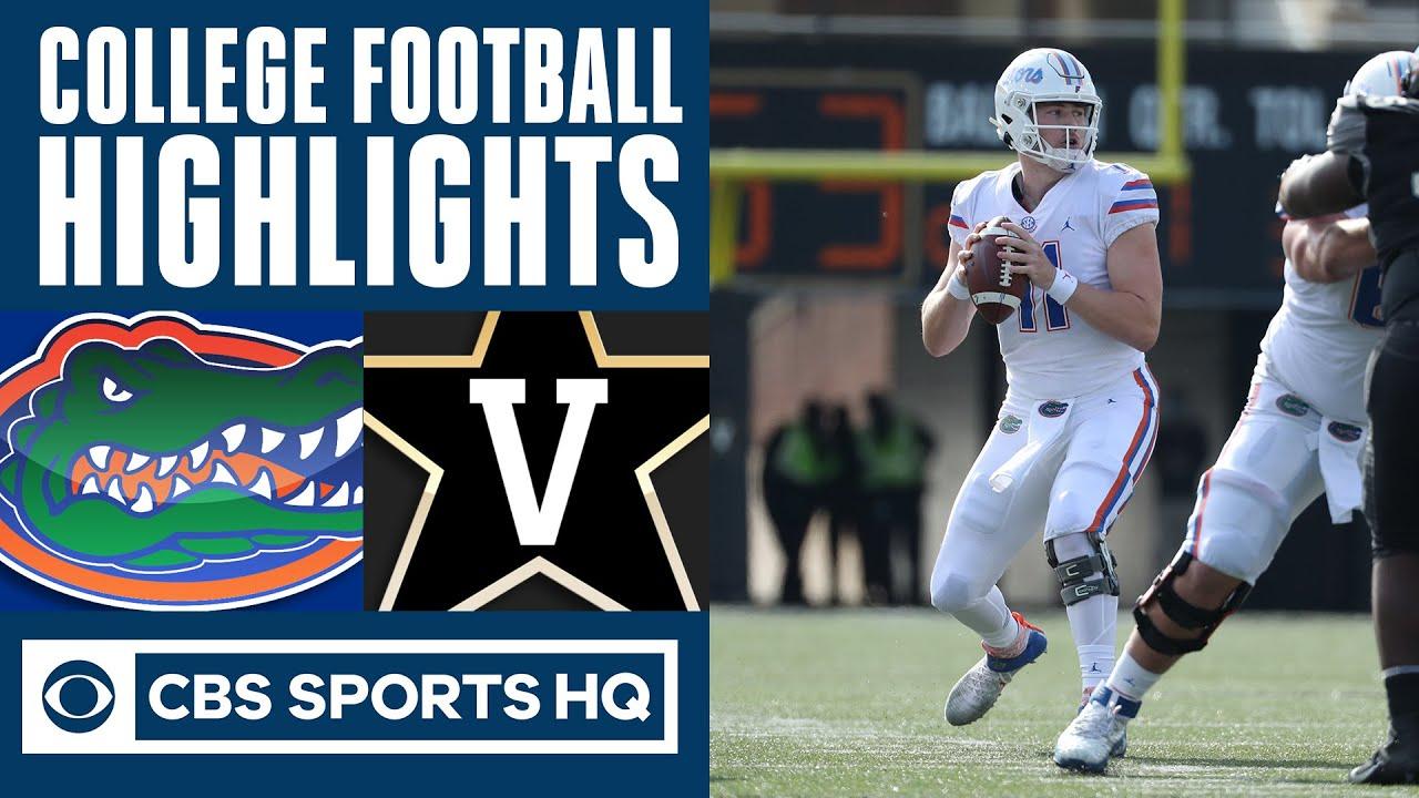 "#6 Florida vs Vanderbilt Highlights: Gators get ""ho-hum"" win over Vandy   CBS Sports HQ"