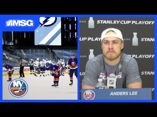 Anders Lee Gets Emotional Discussing How Proud He Is Of Islanders | New York Islanders