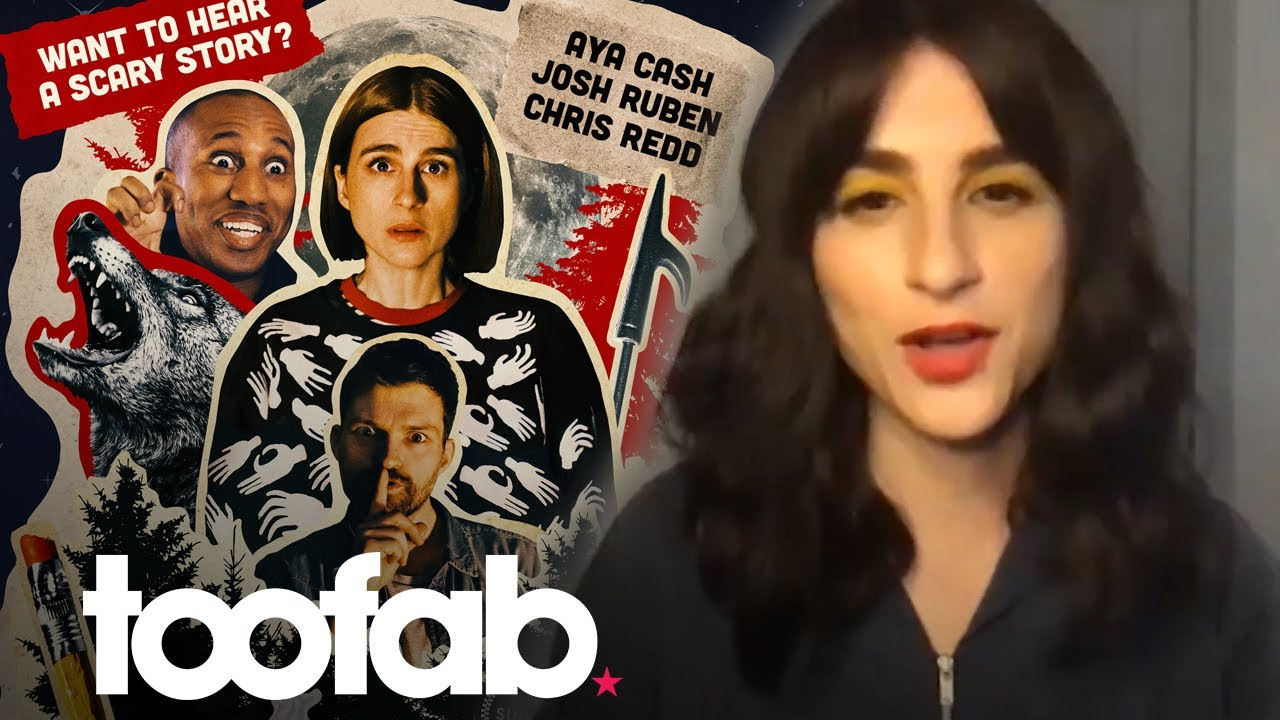 Aya Cash on Filming Horror Comedy 'Scare Me' & Playing Stormfront on 'The Boys' | toofab