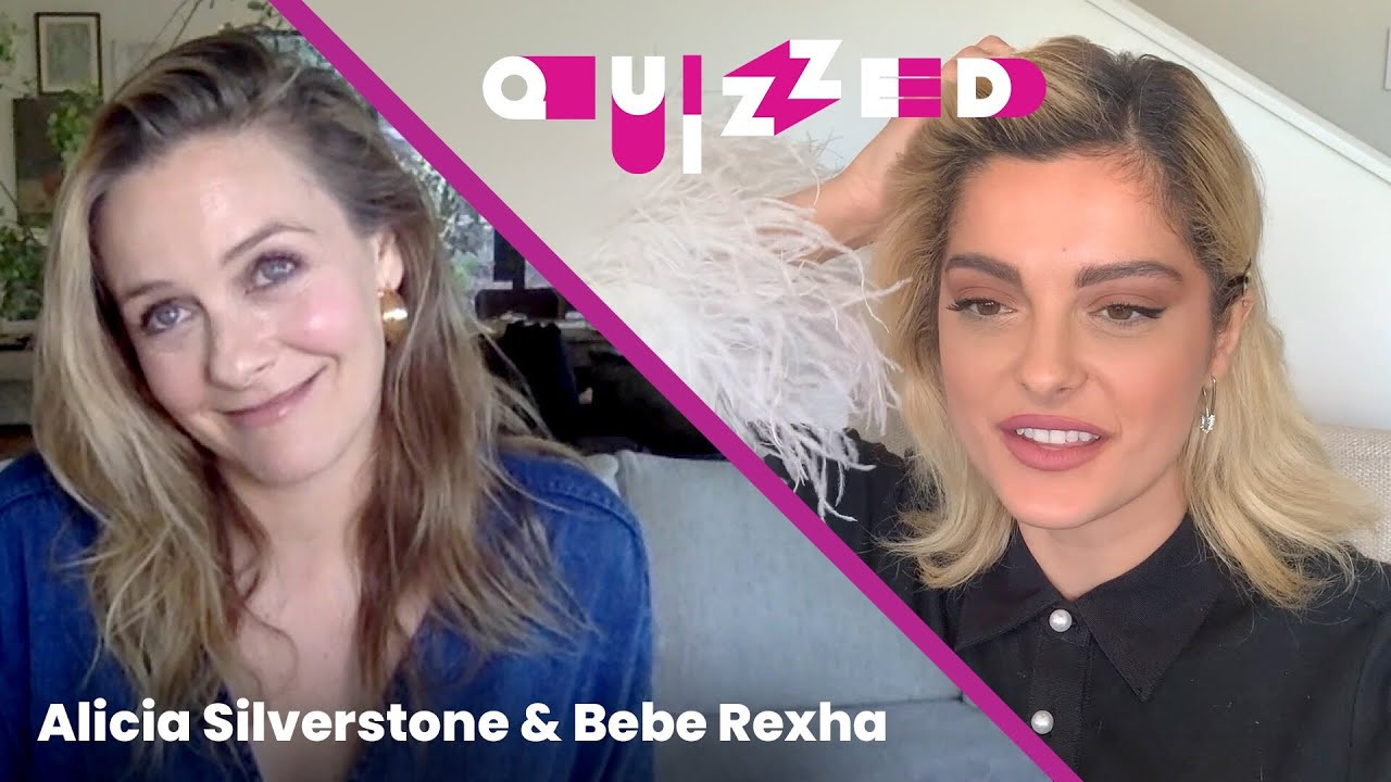 Bebe Rexha Gets QUIZZED by Alicia Silverstone on Clueless