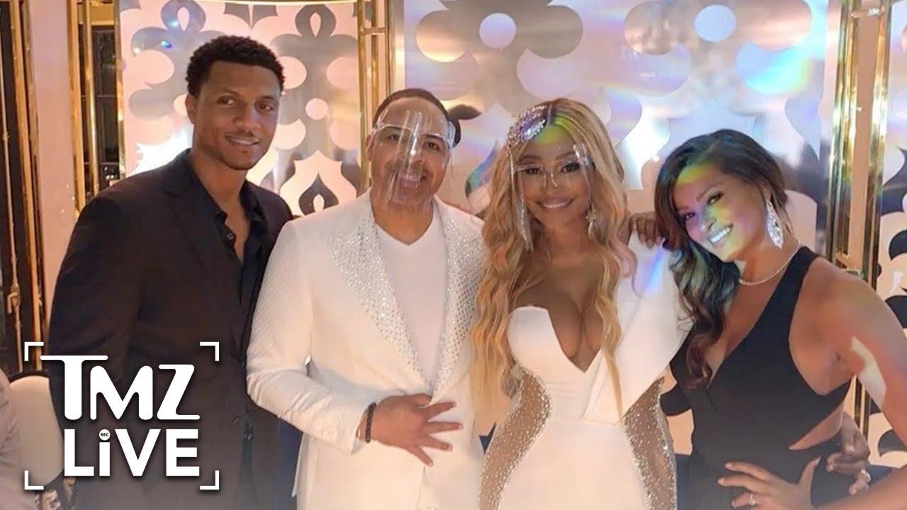 Bravo Bailed on Filming 'RHOA' Star Cynthia Bailey's Wedding Over COVID Concerns | TMZ Live