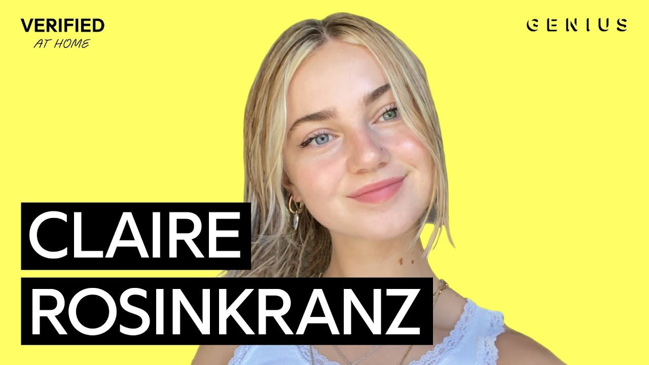 "Claire Rosinkranz ""Backyard Boy"" Official Lyrics & Meaning | Verified"