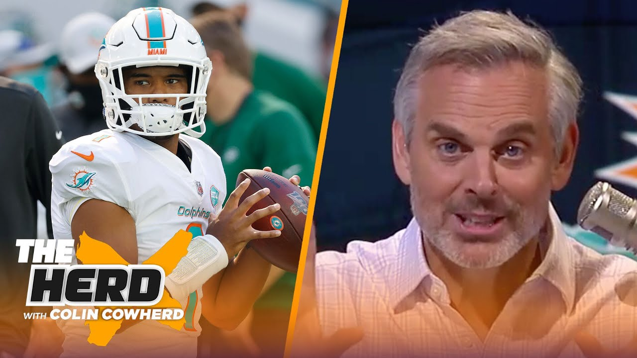 Colin has epiphany before Tua's Miami debut, Packers' interest in Will Fuller | NFL | THE HERD