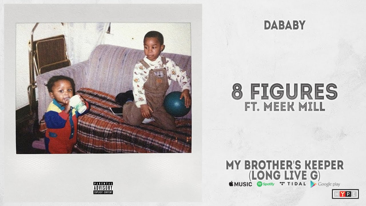 """DaBaby – """"8 Figures"""" Ft. Meek Mill (My Brother's Keeper, Long Live G)"""