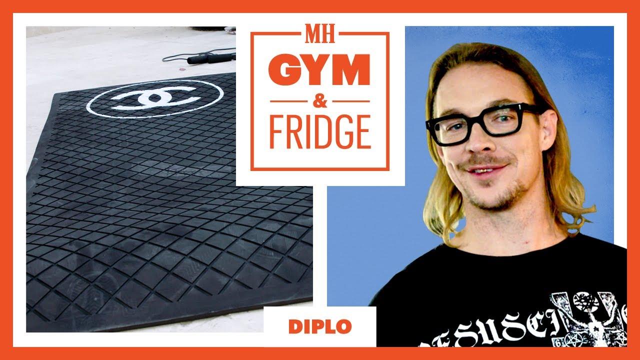 Diplo Shows His Home Gym & Fridge | Gym & Fridge | Men's Health