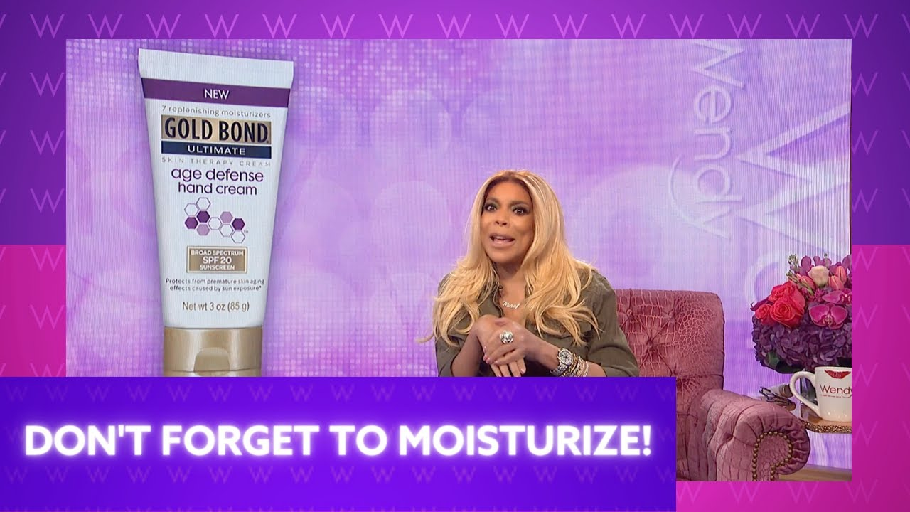 Don't Forget to Moisturize