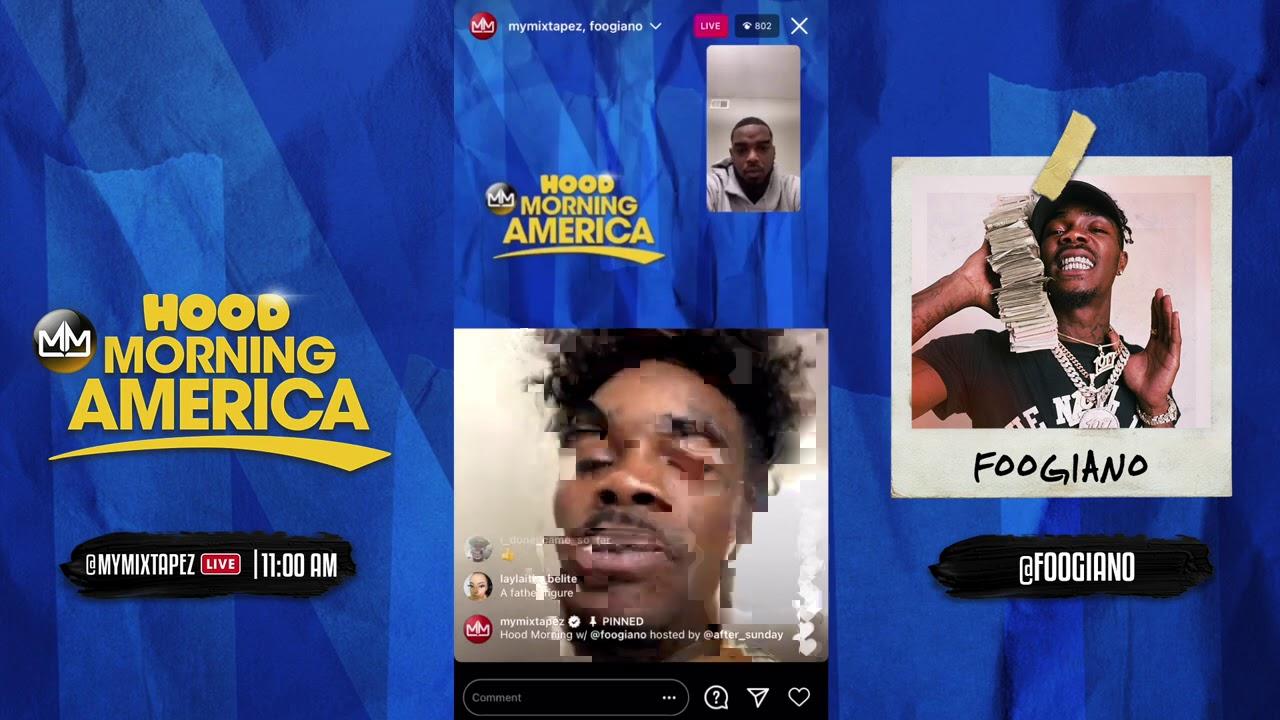 Foogiano talks new mixtape Gutta Baby [Hood Morning America]