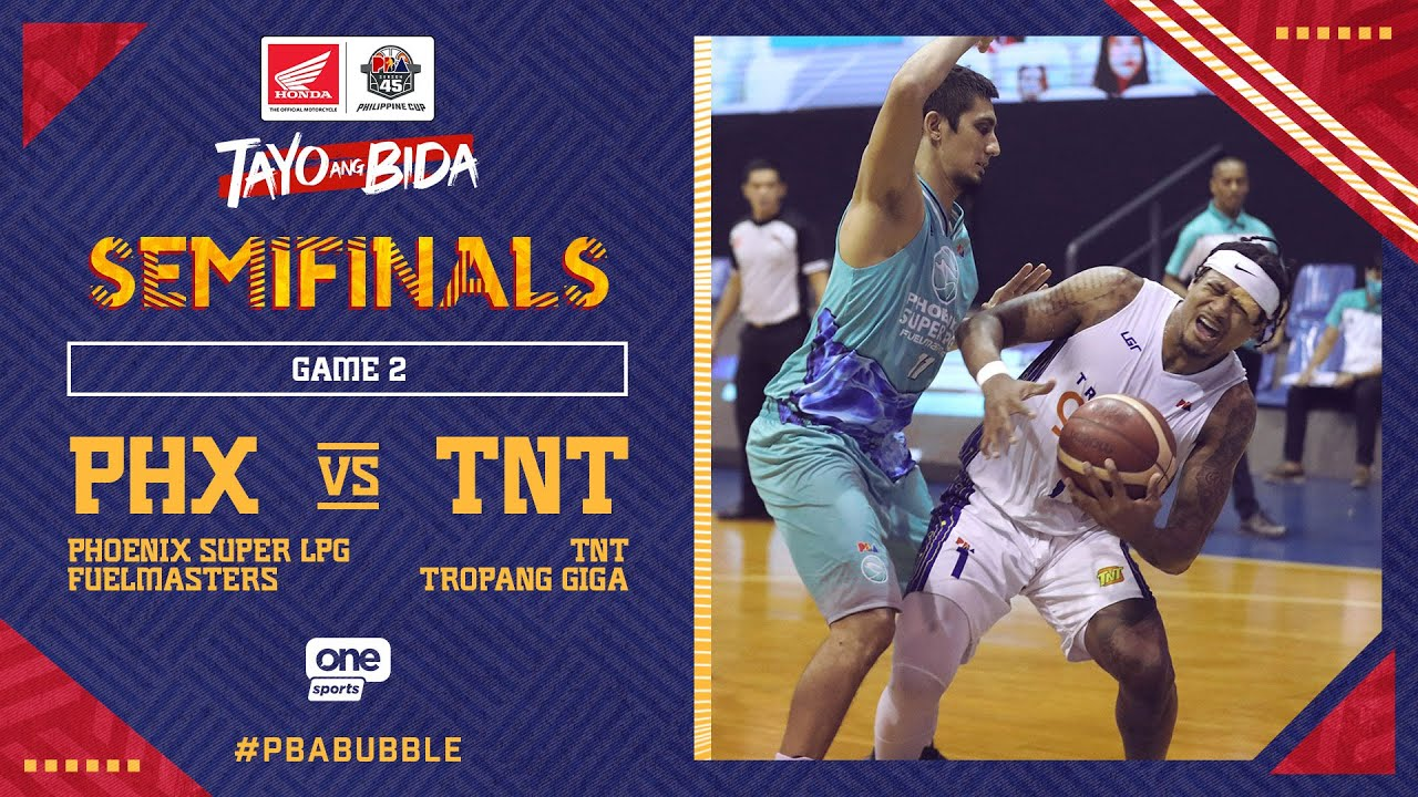 Full Game 2: Phoenix vs TNT   PBA Philippine Cup 2020 Semifinals