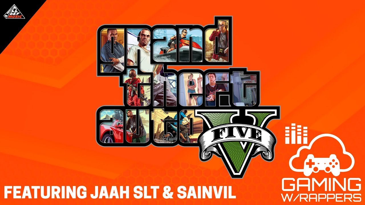 Gaming with Rappers | Grand Theft Auto V | Feat. Jaah SLT & Sainvil | All Def Music