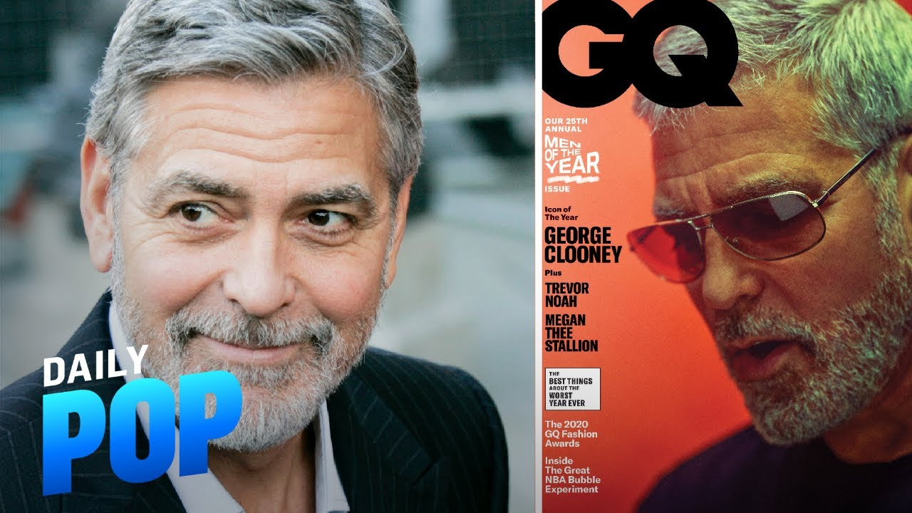 "George Clooney Gets Candid on Wife Amal & Kids in ""GQ"" 