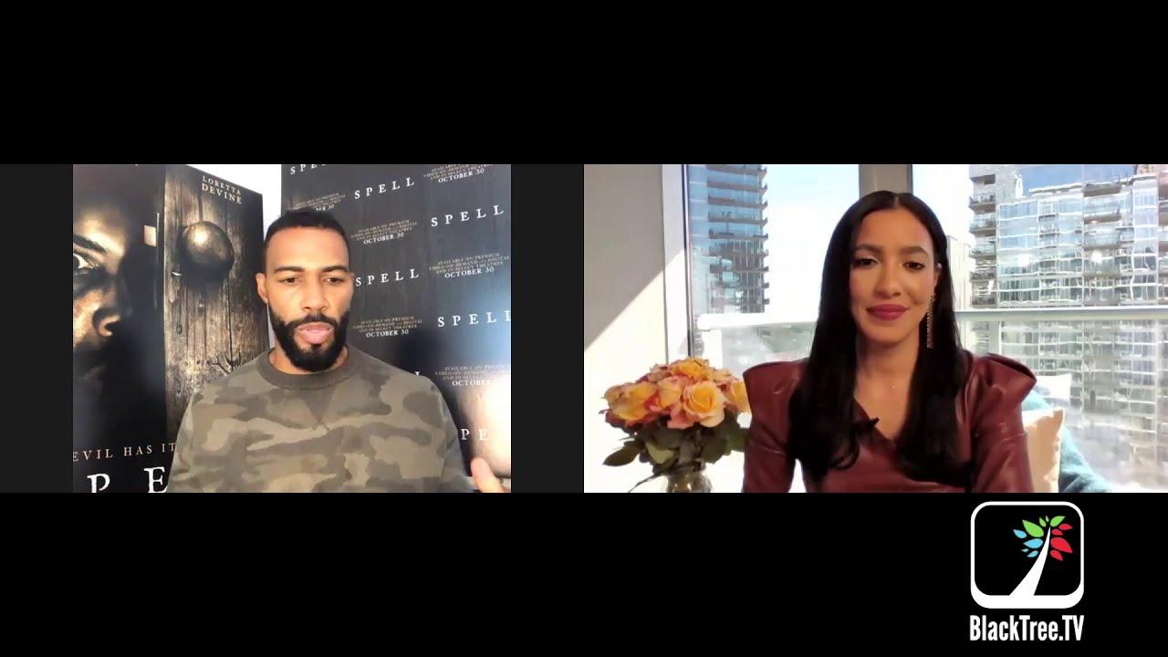 Get Caught up in Omari Hardwick's Spell for Halloween
