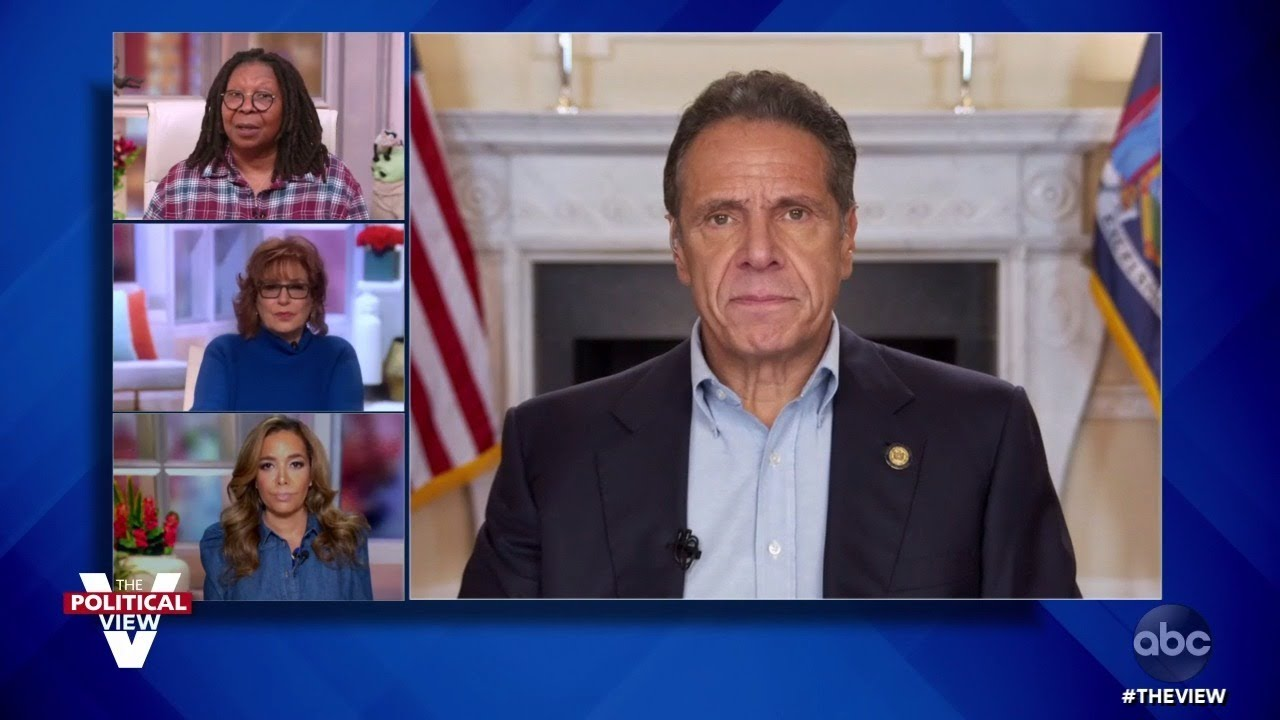 "Gov. Andrew Cuomo Confident Biden Will Win Election, ""Nervous"" Over Post-Election Trump 