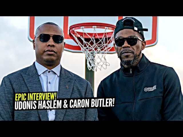 Heat Legend Udonis Haslem Reunites With Caron Butler In Miami, Opens Up About His Career