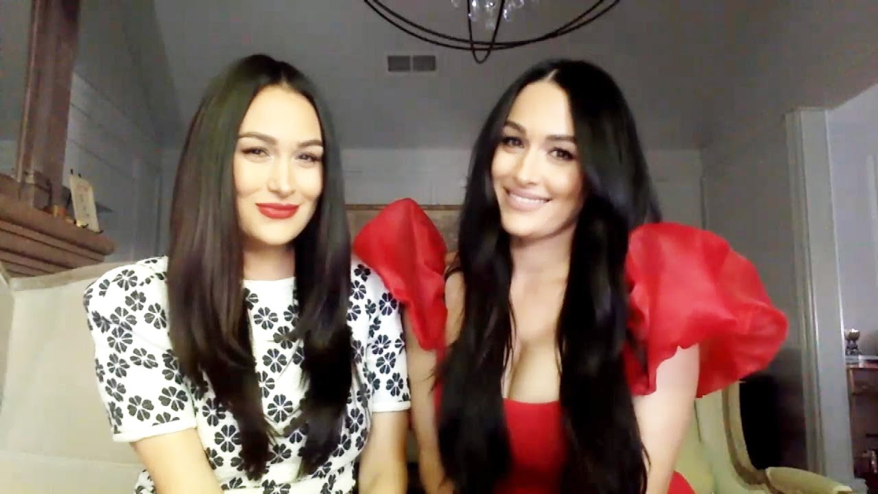 How Nikki and Brie Bella Set Up Their Own TV Cameras in the Delivery Room (Exclusive)