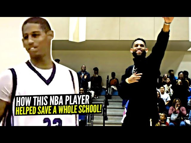 How This NBA Player Helped SAVE A WHOLE SCHOOL! Allen Crabbe Building On Family's Legacy!