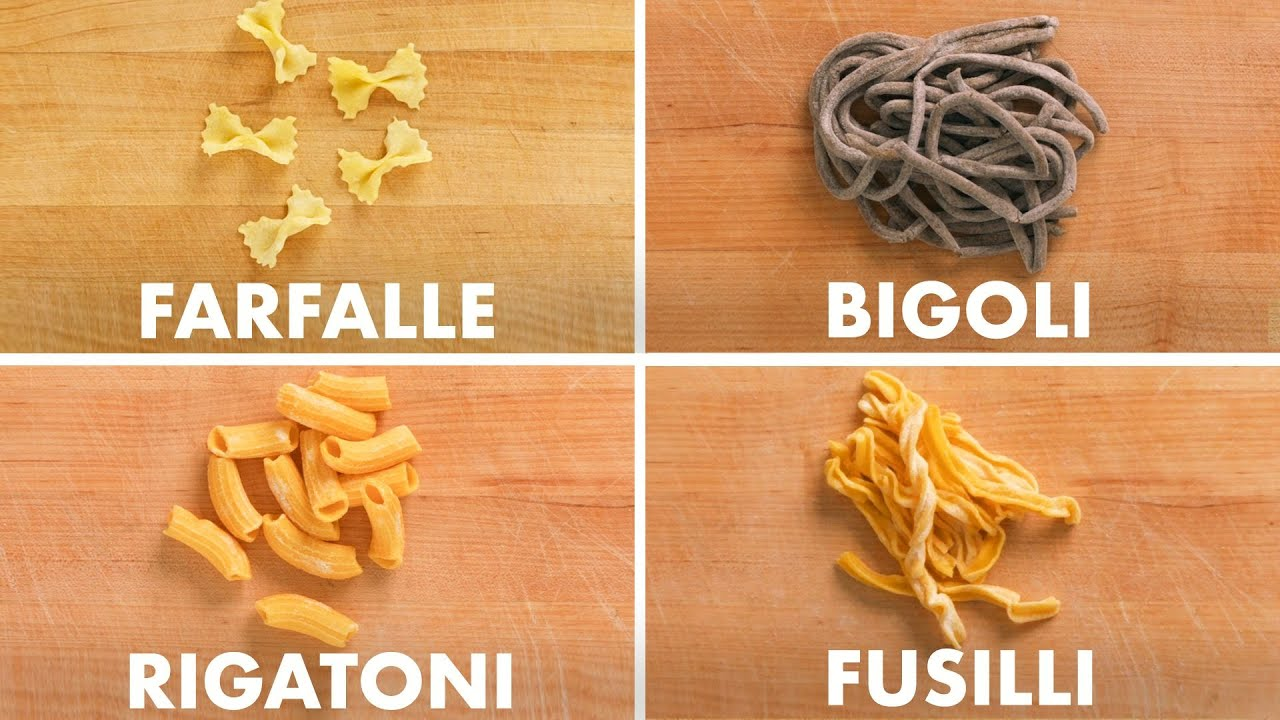 How To Shape Every Pasta | Method Mastery | Epicurious