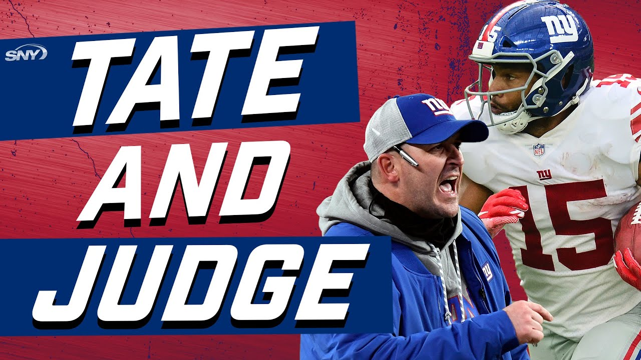 How well did Joe Judge handle the Golden Tate situation? | New York Giants | SNY