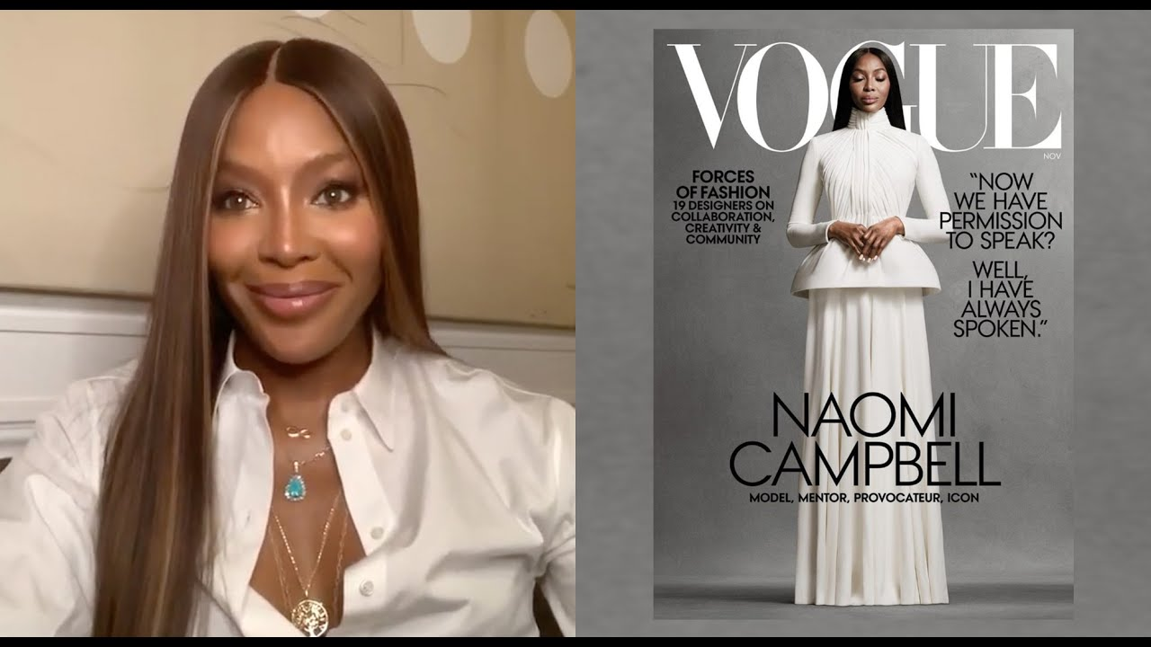 Inside Look of My Vogue Cover Shoot | Naomi Campbell