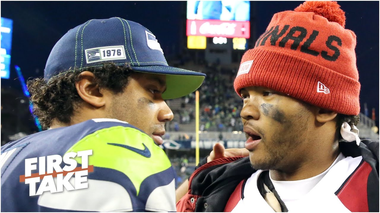 Is Russell Wilson or Kyler Murray the more dangerous QB? Stephen A. & Max debate | First Take