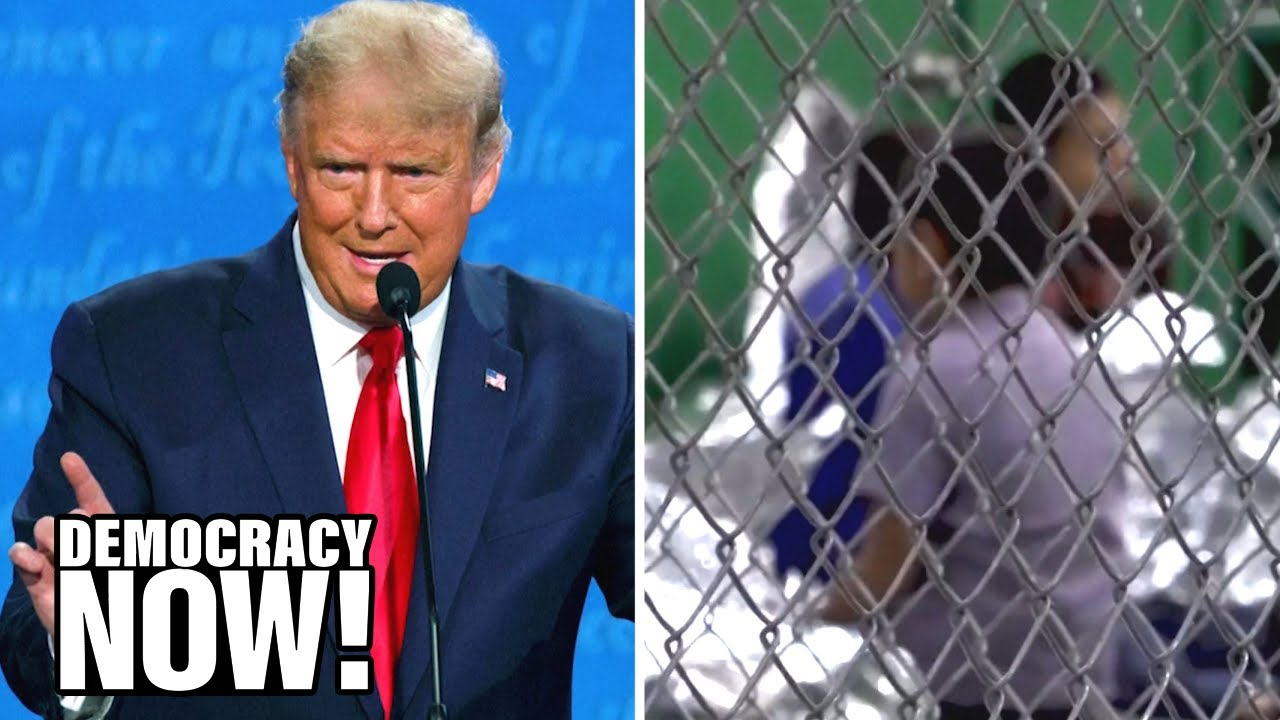 """""""It's Criminal"""": Biden Slams Trump as Gov't Can't Find Parents of 545 Children Separated At Border"""