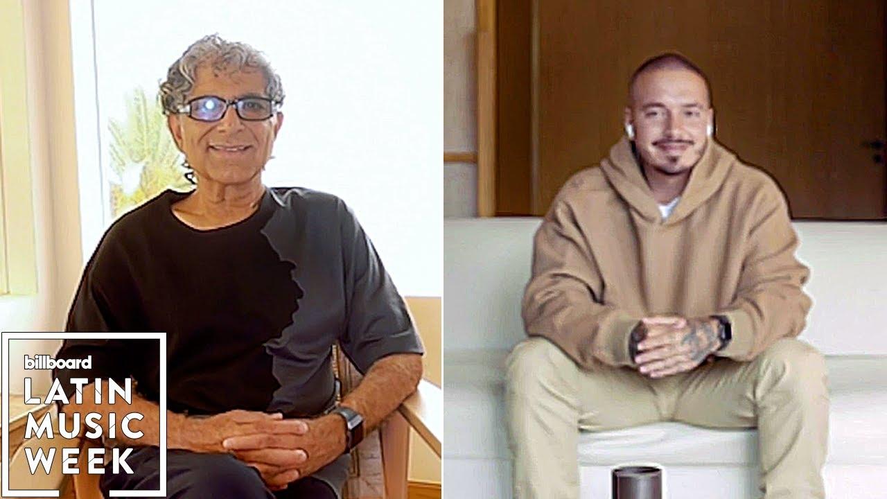 J Balvin & Deepak Chopra Discuss the Role Meditation & Music Have in Healing | Billboard Latin Week