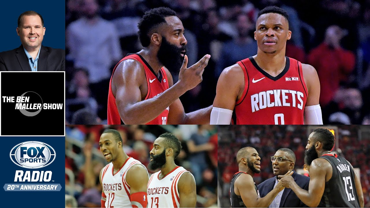 James Harden Can't Team Up With Star Players Anymore | Ben Maller