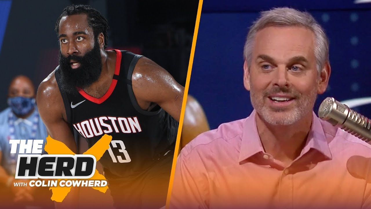 James Harden is not a true No. 1 — Colin on Harden seeking trade to Nets | NBA | THE HERD