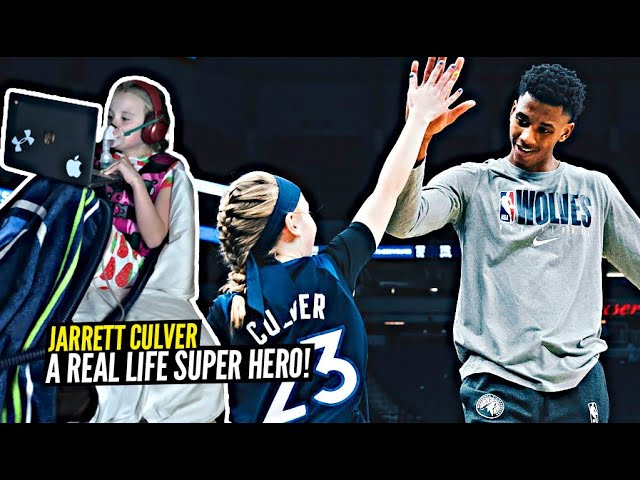Jarrett Culver Is a REAL LIFE SUPER HERO! Inspires His No. 1 Fan In Battle With Cystic Fibrosis