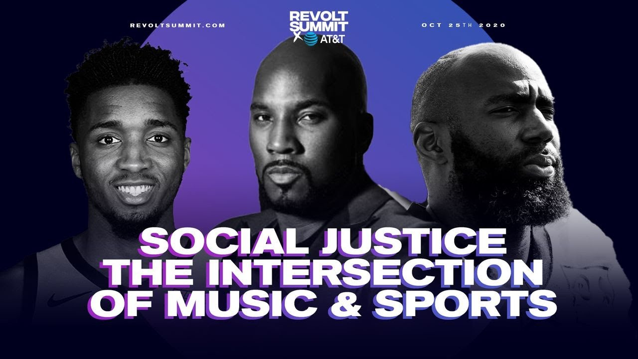 Jeezy, Malcolm Jenkins & Donovan Mitchell on sports' role in social justice fight | REVOLT Summit