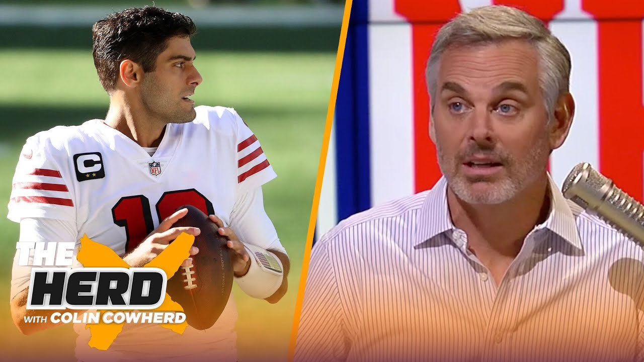 Jimmy G is done in San Francisco, talks Giants Week 8 loss to Bucs — Colin Cowherd | NFL | THE HERD