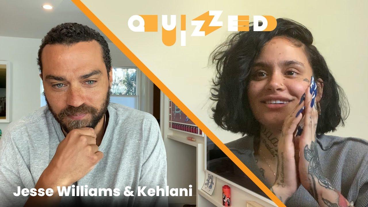 Kehlani Gets QUIZZED by Jesse Williams on Grey's Anatomy