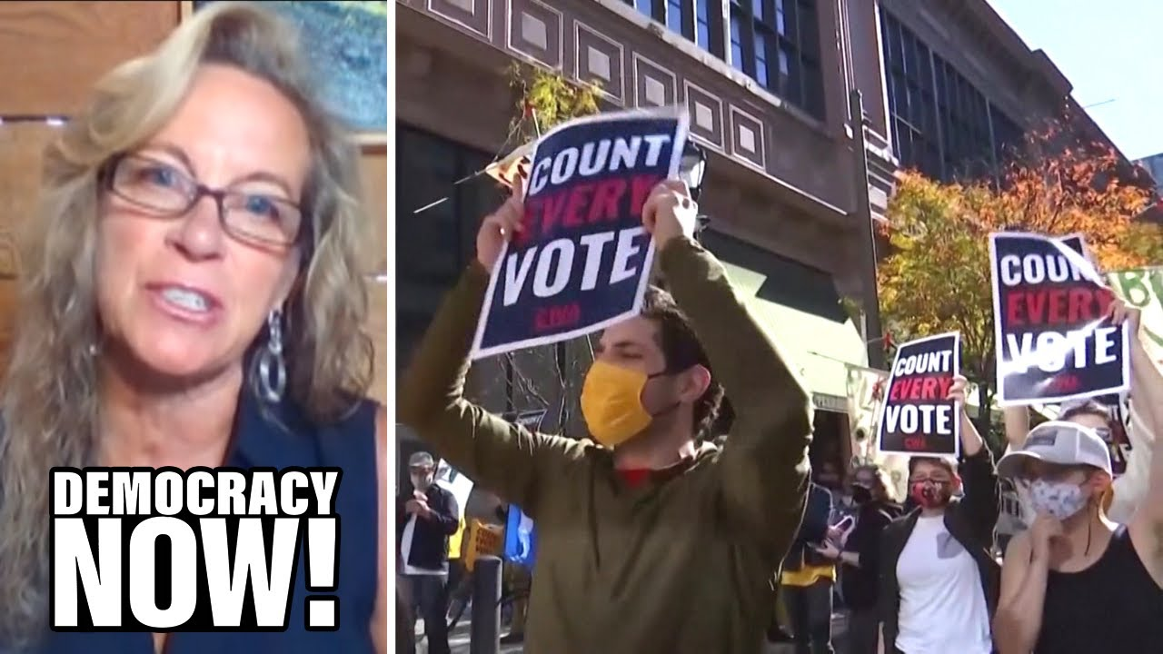 Labor Organizer: I Witnessed Bush Steal 2000 Election in Florida. We Can't Let Trump Steal This One