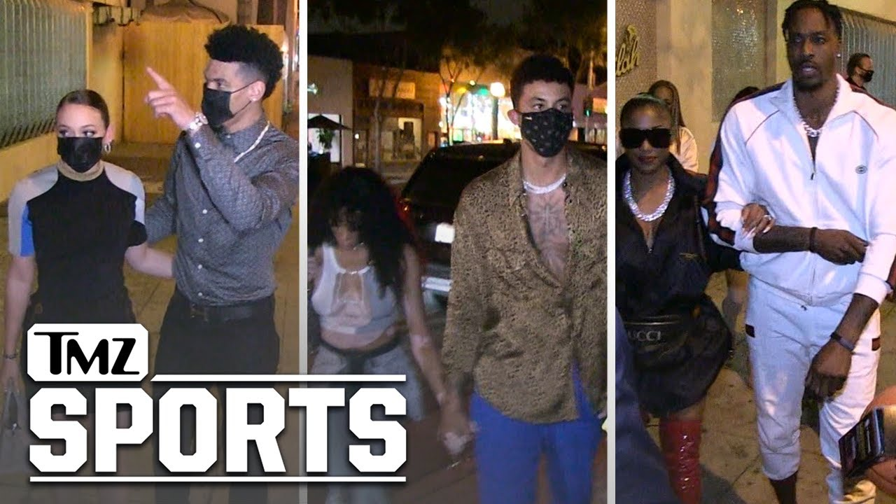Lakers Stars Party In Hollywood, The Championship Celebration Continues! | TMZ Sports