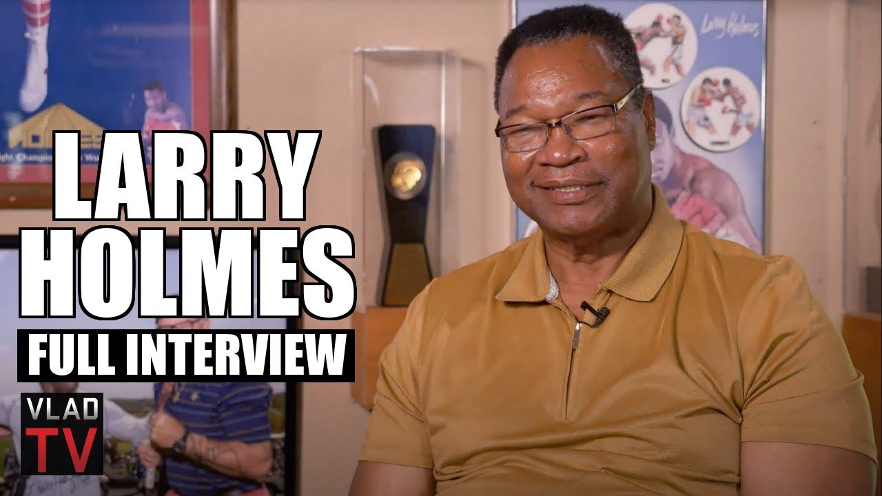 Larry Holmes on Going 48-0, Beating Ali, Losing to Tyson & Holyfield, 2Pac Dis (Full Interview)
