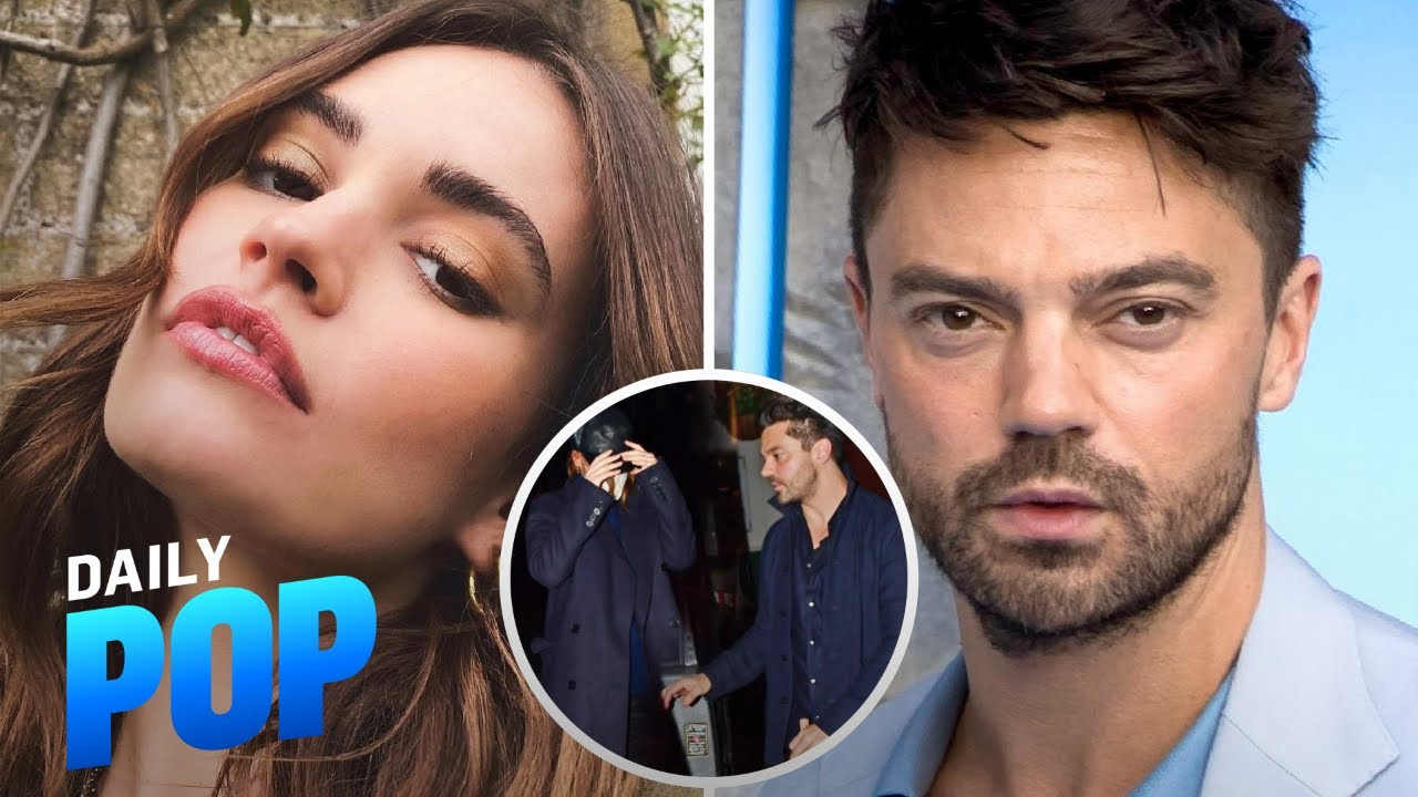 Lily James Spotted at Dinner With Dominic Cooper | Daily Pop | E! News