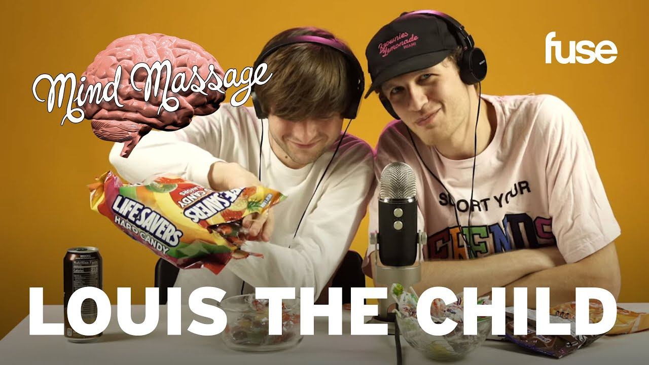 "Louis The Child Do ASMR with Stress Balls, Talk Music Production & ""Self Care"" 