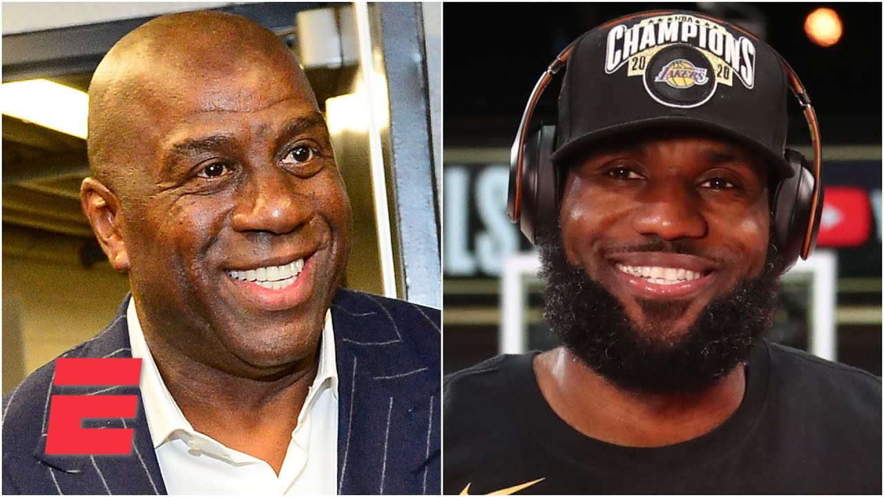 Magic Johnson describes how LeBron's efforts off the court impact his legacy | KJZ