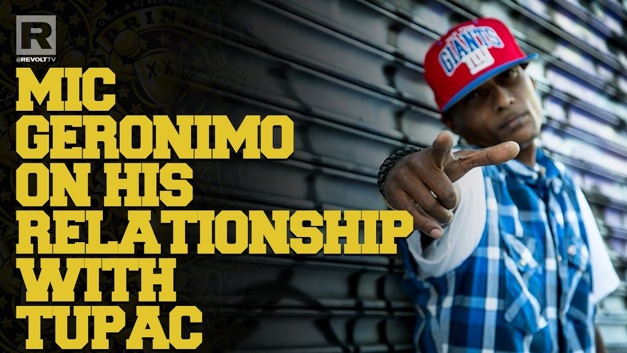 Mic Geronimo On His Relationship With Tupac & How They Met