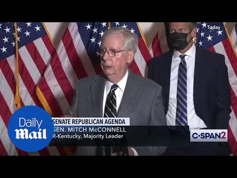 Mitch McConnell promises orderly transition to 'next administration'
